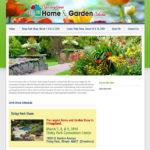 home show website design