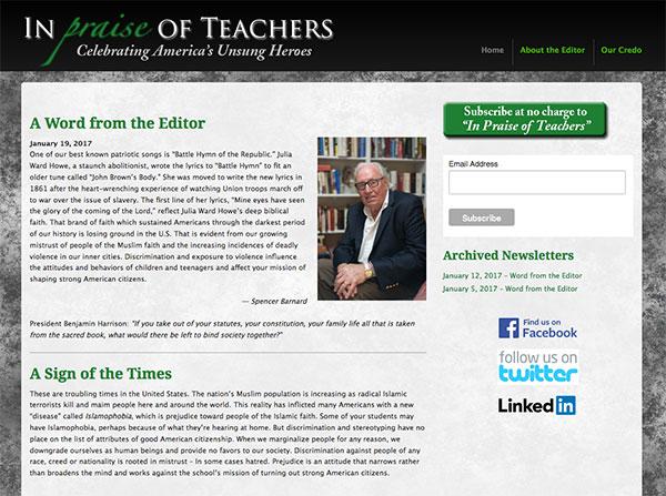 freelance website design